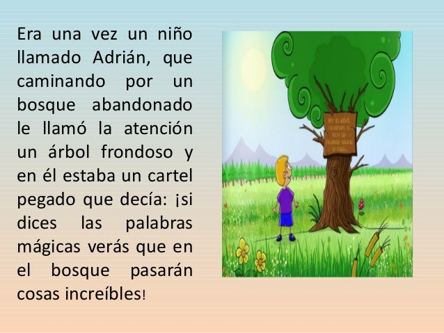 El arbol magico Slide 3