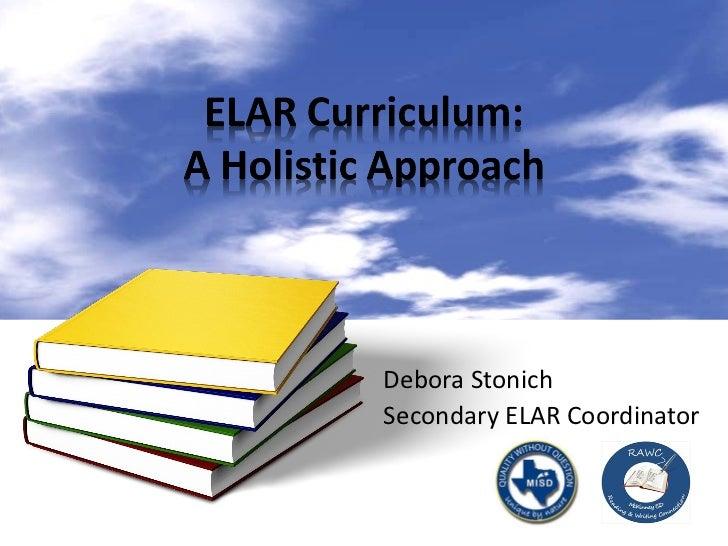 Debora Stonich Secondary ELAR Coordinator