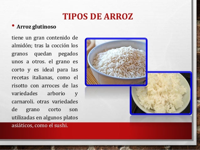 El arroz for Como se prepara el arroz