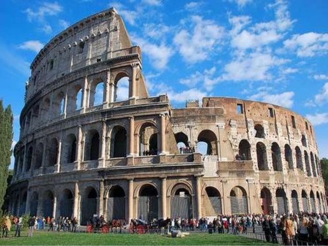 la arquitectura y el arte en roma