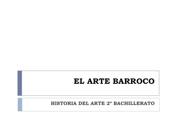 El Arte Barroco