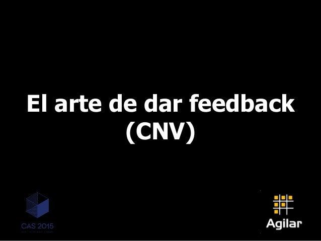 El arte de dar feedback (CNV)