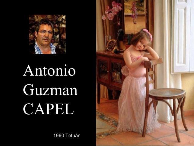 AntonioAntonio GuzmanGuzman CAPELCAPEL 1960 Tetuán