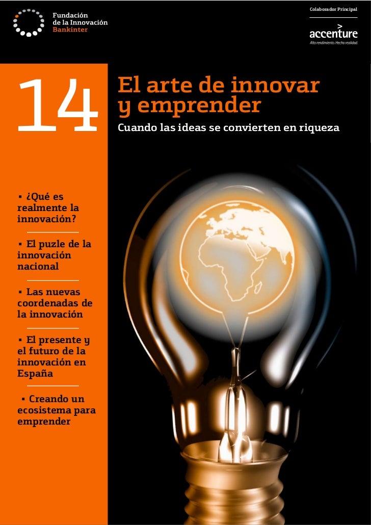 Colaborador Principal14                                 El arte de innovar                                 y emprender    ...