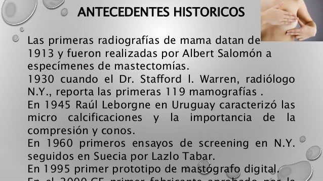 El arte de la mastografia en el diagnostico Slide 2