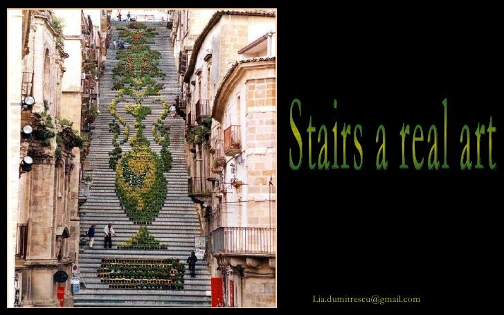 Stairs a real art [email_address]