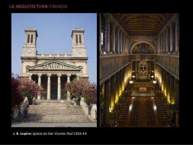 El arte del romanticismo Romanticismo arquitectura