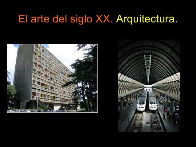 El arte del siglo xx for Arquitectura del siglo 20