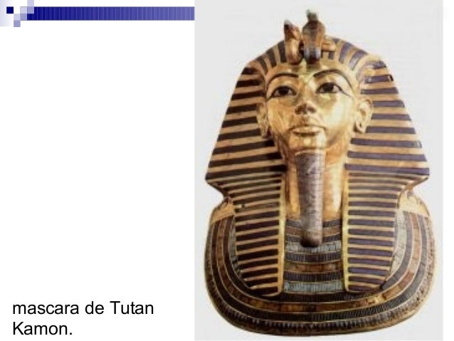 mascara de Tutan Kamon.