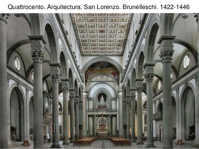 El arte moderno renacimiento quattrocento Arquitectura quattrocento caracteristicas