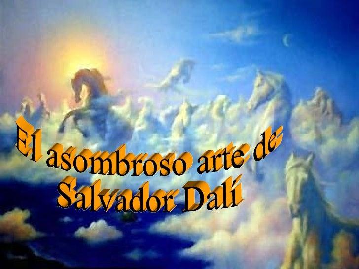 Bodyart El asombroso arte de  Salvador Dalí
