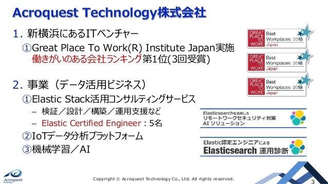 Elastic Community Conference Slide 3