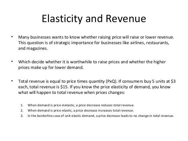 The Difference Between Elastic & Inelastic in Economics