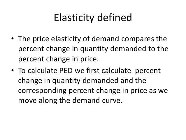 perfectly elastic and perfectly inelastic demand