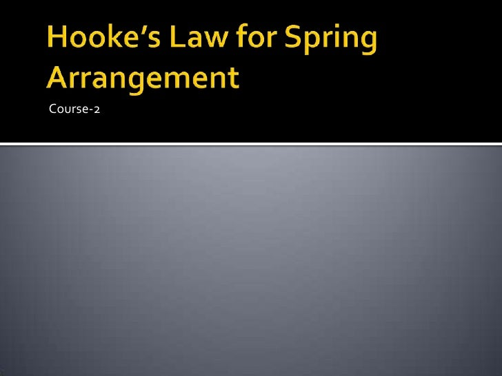 hooke's law and simple harmonic 4 2-1 object: to study hooke's law, and simple harmonic motion of a mass oscillating on a spring 2-2 apparatus: rotary motion sensor, thin string, uniform spring.