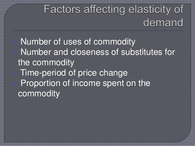 case study on elasticity of demand To study, what factors affect the demand and price elasticity of fair trade products   2 in the case of coffee cooperatives of small producers.