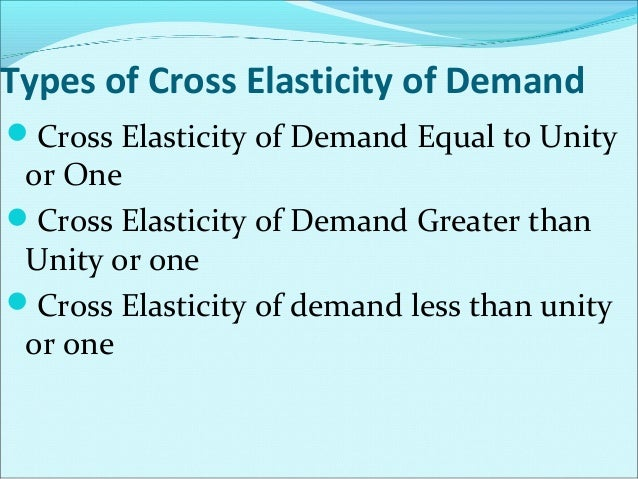 Advertising Elasticity of Demand Advertising elasticity of demand is the  measure of the rate of change in demand due to ...