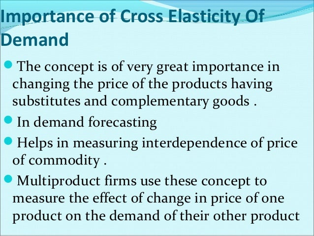Limitation of Advertising Elasticity of the Demand The impact of advertising on sales is  different under different condi...