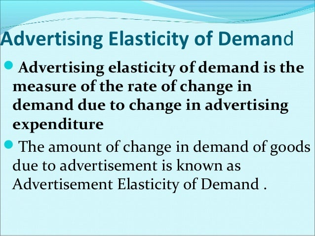 Elasticity of Supply Elasticity of Supply: a measure of the way suppliers  respond to a change in price Elastic: sensiti...