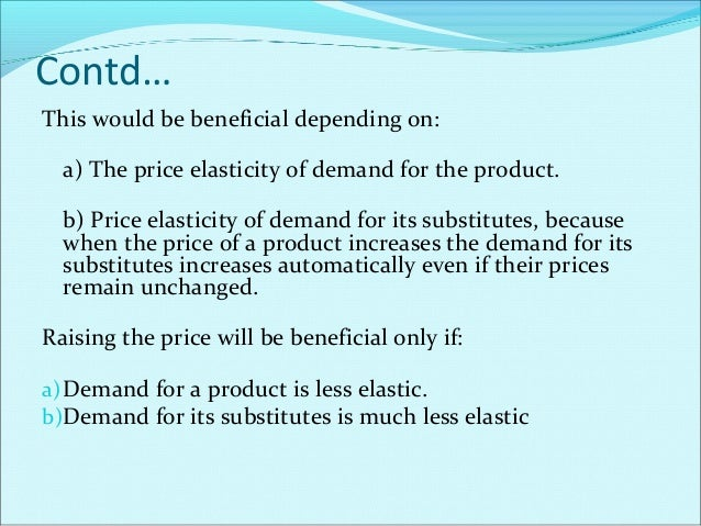 Price Elasticity Of Demand Definition The change in the quantity demanded of a product due to a change in its price is kno...
