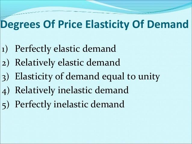 Perfectly elastic demand y Perfectly elastic demand curve  P R I  D  C E  0  D  When the demand for a product changes –inc...