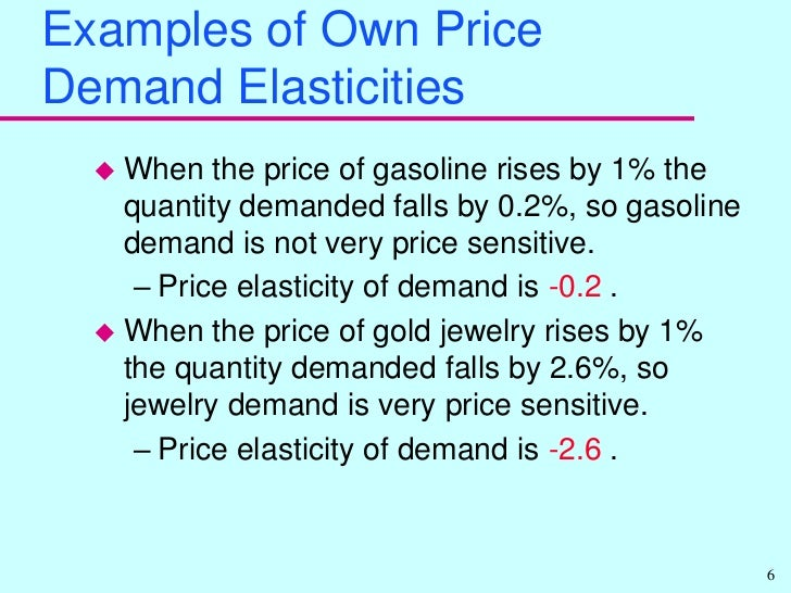 supply demand and price elasticity Price elasticity of demand and supply 1102 words | 5 pages concepts in making price and output decisions price elasticity of demand the price elasticity of demand.