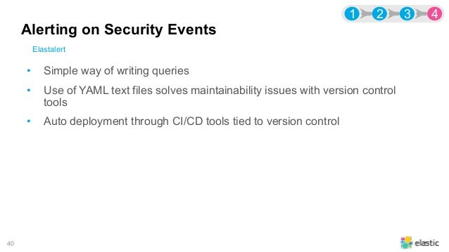 Security Events Logging at Bell with the Elastic Stack