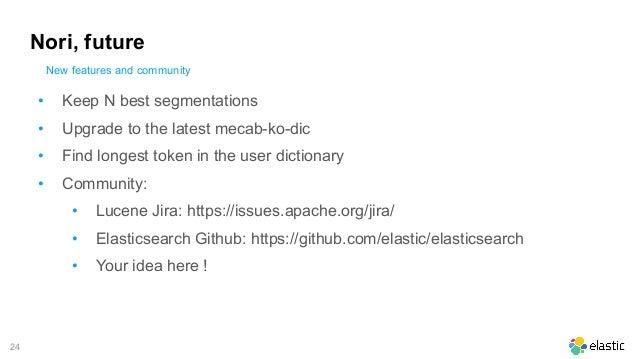 Nori: The Official Elasticsearch Plugin for Korean Language