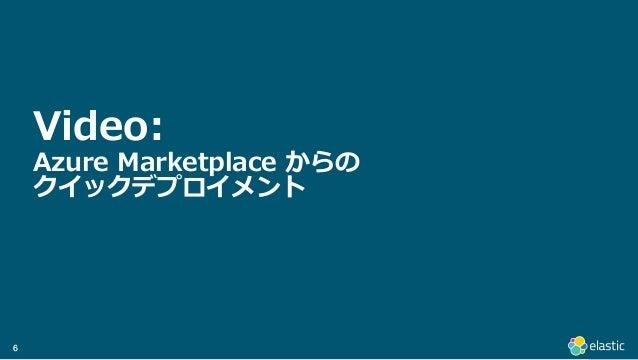 66 Video: Azure Marketplace からの クイックデプロイメント
