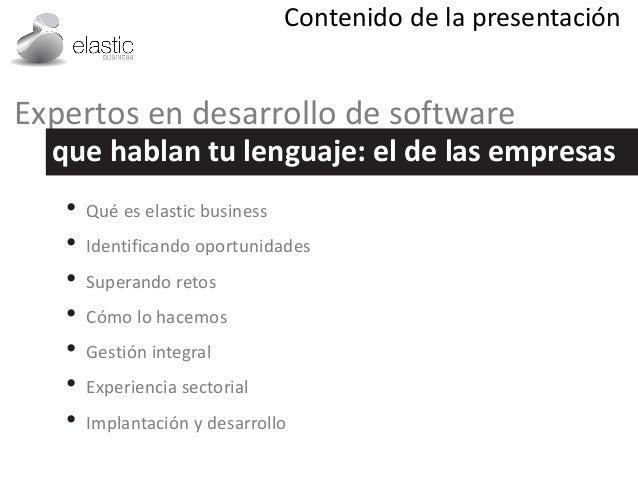 Una introducción a elastic business Slide 2