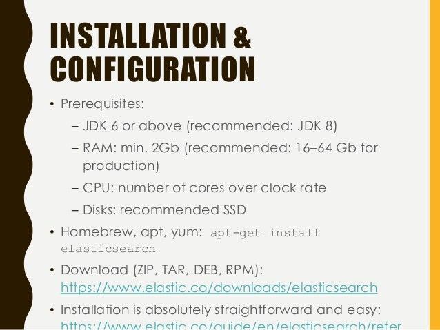 Install elasticsearch 1 7 rpm | Peatix