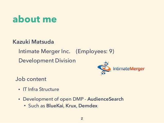 Elasticsearch as a DMP
