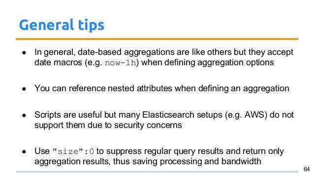 Elasticsearch for Data Analytics