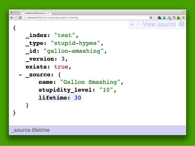 … VS. SOLR•+  • Also built on Lucene    • So similar feature set    • Also exposes Lucene functionality, like Elastic Sear...