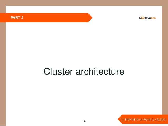 PART 2 16 Cluster architecture