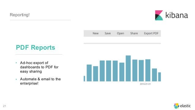21 Reporting! • Ad-hoc export of dashboards to PDF for easy sharing • Automate & email to the enterprise! PDF Reports