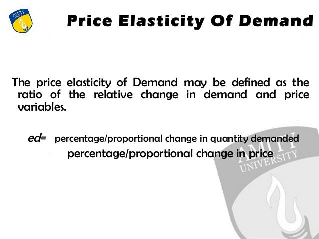 Price Elasticity of Demand 2.0: Where Theory Meets ...