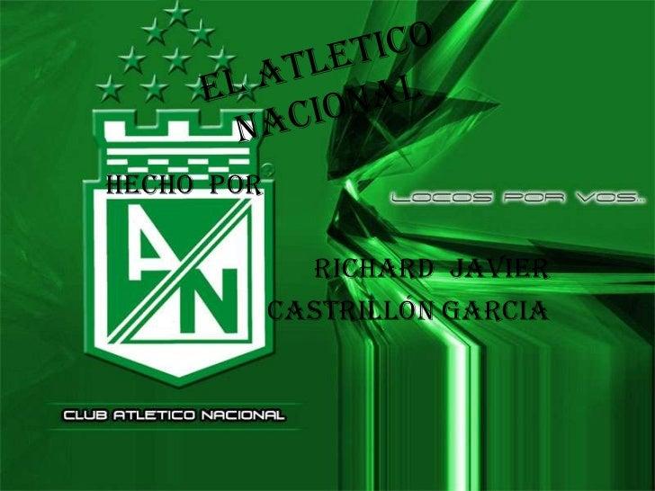 HECHO POR              Richard Javier            Castrillón garcia