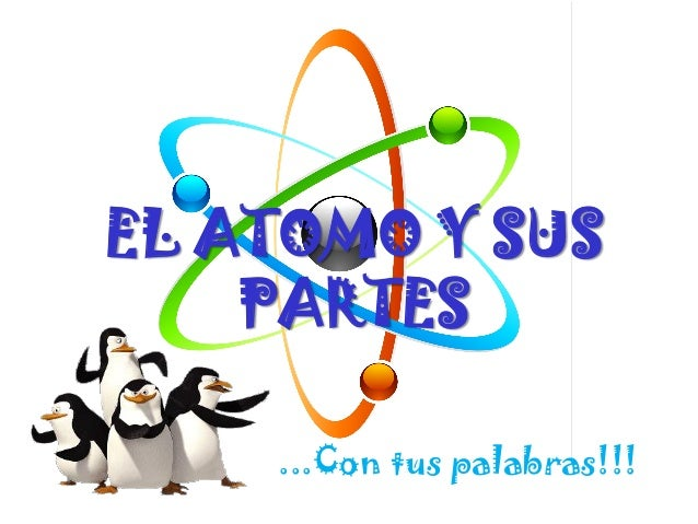 EL ATOMO Y SUS PARTES ...Con tus palabras!!!