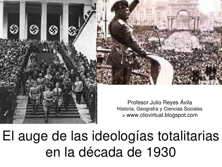 Profesor Julio Reyes Ávila                    Historia, Geografía y Ciencias Sociales                      > www.cliovirtu...