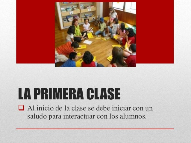 El aula Slide 3