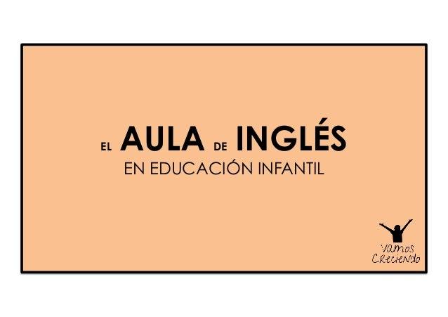 EL AULA DE INGLÉS EN EDUCACIÓN INFANTIL