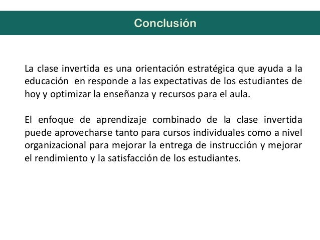 La clase invertida es una orientación estratégica que ayuda a laeducación en responde a las expectativas de los estudiante...
