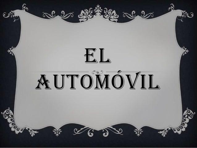 ELAUTOMÓVIL