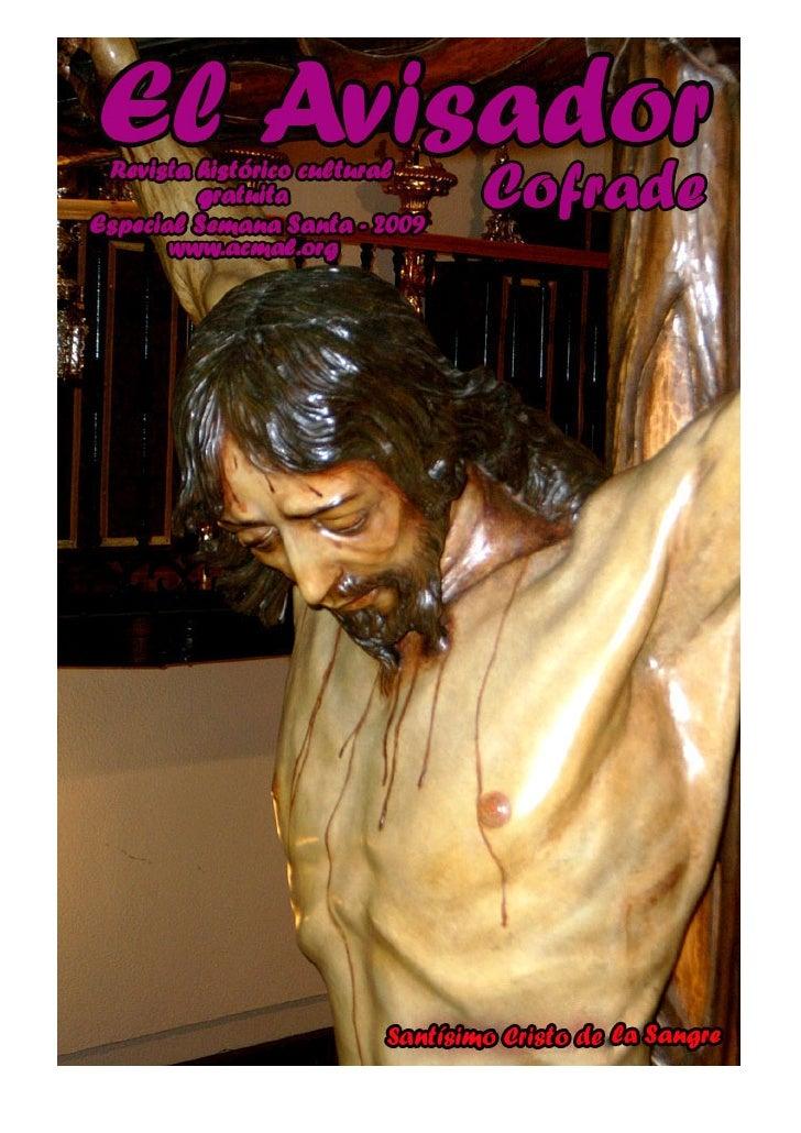 Portada: Santísimo Cristo de la Sangre                                                        Fotografía de: Diego Ceano  ...