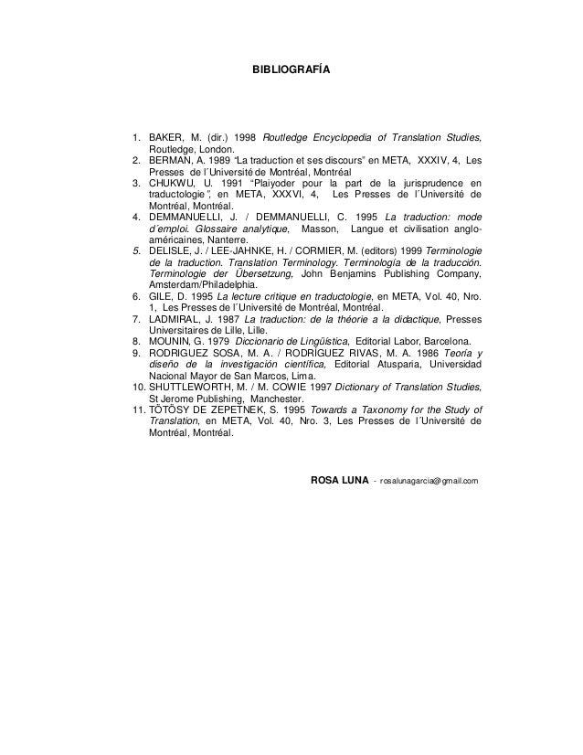 routledge encyclopedia of translation studies pdf
