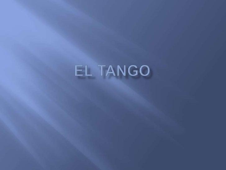 El Tango<br />