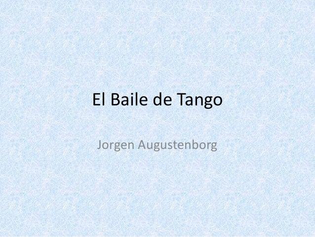 El Baile de Tango Jorgen Augustenborg