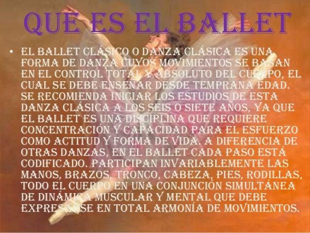 El ballet Slide 2