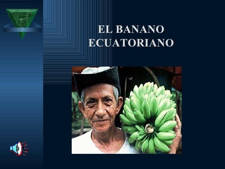 EL BANANO ECUATORIANO
